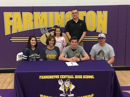 Hayden will play for Augustana!