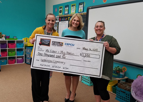 One Class at a Time Grant Winners!