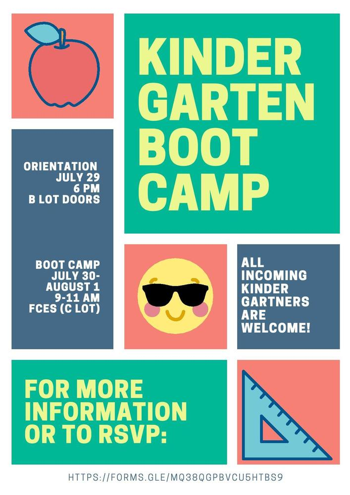 Kindergarten Boot Camp!