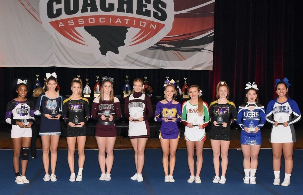 Cheer Scholarship Winners 2019