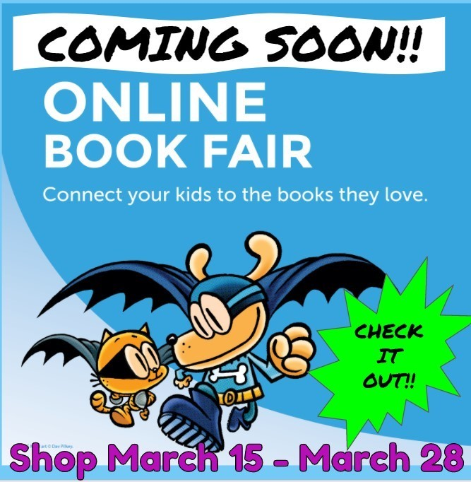**FCES Online Book Fair Starts MONDAY!**