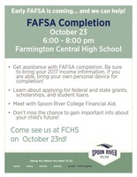 Financial Aid Night/FAFSA Completion