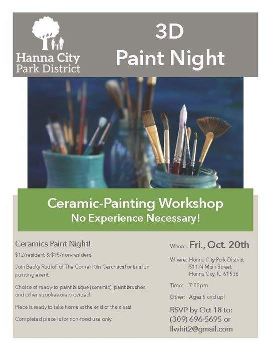 Ceramic Painting Workshop